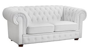 Max Winzer Bridgeport Sofa 2-Sitzer - Farbe: weiß - Maße: 172 cm x 98 cm x 76 cm; 2883-2100-9210050-F07