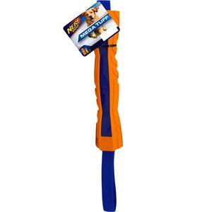 NERF Dog Megatonne Zug-Stick 30cm blau/orange