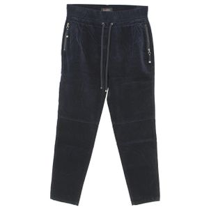 24453 Buena Vista, Lorena Woven Velvet,  Damen Jeans Hose, Velour Stretch, darkblue, XS