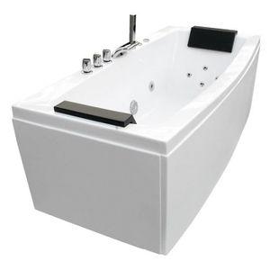 Badewanne BALNEO 170x80x68cm weiß
