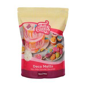 FunCakes Deco Melts -Natürliches Weiß- 1kg