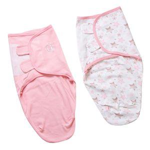 Baumwolle Baby Schlafsäcke Neugeborenes Baby Cocoon Swaddle Wrap Star Moon 5-7M Mehrfarbig Wickeln wie beschrieben Stern Mond 5-7M