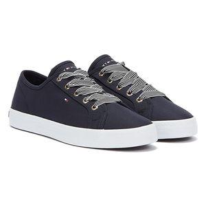 Tommy Hilfiger Nautical Sneaker Damen Sneaker in Blau, Größe 37