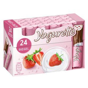 Yogurette Erdbeere Vollmilchschokolade mit Erdbeercreme 300g
