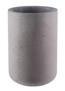 """Buddy´s Bar - Flaschenkühler """"Concrete"""" /// hochwertiger Sektkühler aus Beton /// 12 x 19 cm /// möbelschonende Unterseite /// Innendurchmesser 10 cm /// geeignet für 0,7 - 1,5 Liter Flaschen /// Beton grau"""
