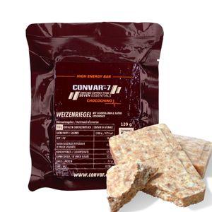 Convar-7 Chocochino Geschmack Weizenriegel 120g Notvorrat