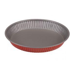 Ø 28 cm TARTEFORM Quicheform Kuchenform Backform Obstkuchenform Rot GUARDINI