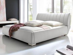 Meise Möbel Polsterbett Bern; Farbe: Weiß ; Maße (BxLxH): 200 cm x 200 cm x 97 cm; 664-99-60000