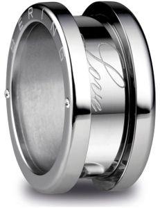 Bering Jewelry Symphony 520-10-x4 Ring Außenring, Ringgröße:54 / 7