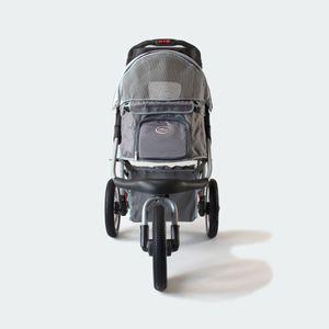InnoPet® buggy Comfort Luftreifen Hundebuggy Pet Stroller Hundewagen Mittelgrau/Grau