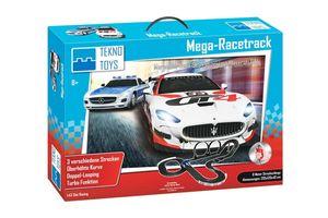 Teknotoys Rennbahn-Set Mega-Racetrack Maßstab 1:43  Verpackung Slotbahn Autorennbahn
