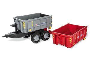 Anhänger für Tretfahrzeug rolly Extra Container Set - Rolly Toys