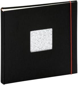 Fotoalbum Linea 30x30 cm schwarz