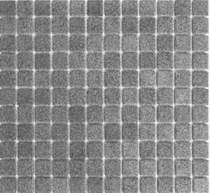 Mosaikfliese RUTSCHEMMEND RUTSCHSICHER DUSCHTASSE STEINGRAU MATT MOS18-0208-R10_f