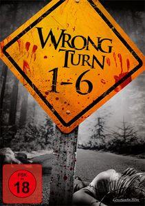 Wrong Turn  1 - 6 BOX (DVD) 6Disc Min: 515DD5.1WS