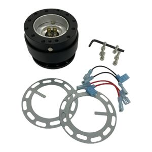Aluminium Ball Lock Lenkrad Quick Release Hub Adapter Kit Set für Universal Auto Liefert