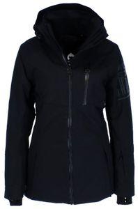 Chiemsee Damen Skijacke mit Print auf dem Arm 12193507, Größe:L, Chiemsee Farben:DEEP BLACK