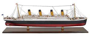 """Großes Modell Schiff, die legendäre """"Titanic"""" der White Star Linie"""