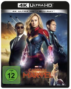 Marvel Studios, Captain Marvel - 4K UHD [Blu-Ray]