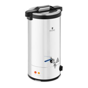 Royal Catering Maischekessel - 30 L - 700 / 1.800 / 2.500 W - 30 - 110 °C - Edelstahl - Royal Catering