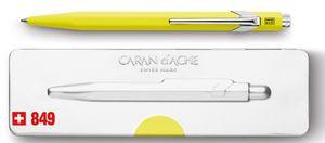 CARAN D'ACHE Druckkugelschreiber 849 POPLINE FLUO gelb