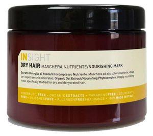 INSIGHT DRY HAIR Haar-Maske feuchtigkeitsspendende Haar-Pflege Conditioner mit Kokosöl 500 ml