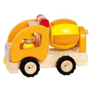 goki 55926 Betonmischer, orange/gelb