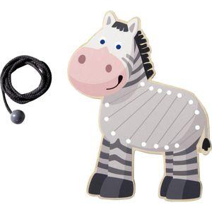 Haba 300188 Fädeltier Zebra