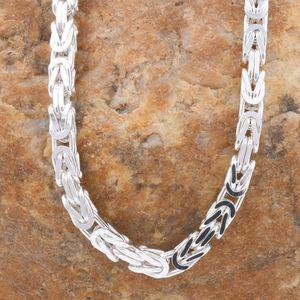 Königskette Silber Kette Herren 925 Sterling Silber massiv Halskette o. Armband 4,3mm 50cm
