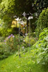 Rankgitter 'Blümchen', garten Dekoration Terrasse Rankenmuster Blume Pflanzen