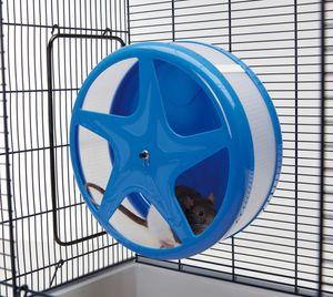 Kleintier Laufrad aus Kunststoff - ORBITAL LARGE - 30 x 17 x 32 cm