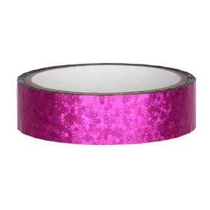 Glitter Deko Klebeband 25mm x 30m, Pink
