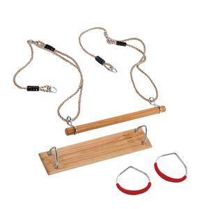 WICKEY Schaukel Zubehör Turngeräte SET für Spielturm, Schaukelgestell oder Klettergerüst