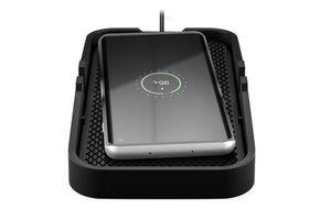 Gooba Kabelloses Ladegerät 10 Watt, Ladematte zum EInsatz im Auto geeignet für Smartphones und Geräte mit Qi Ladefunktion