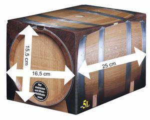 Riesling/ Kerner halbtrocken Bag in Box 5L