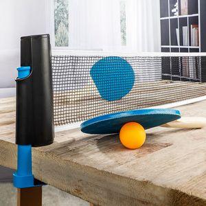 HI 66182 Tischtennis Set mit Schläger  Bällen und Netz