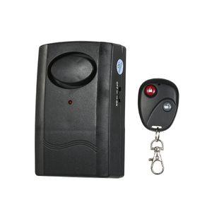 Drahtlose Fernbedienung Vibrationsalarm Anti-Diebstahl-Detektor Auto Motorrad Anti verloren Warnung Tuer Fenster Alarm Sensor Home Security Alarm System