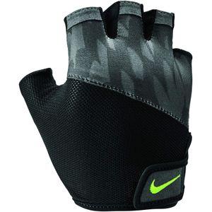 Nike Damen Printed Handschuhe 905 black/black/volt glow M