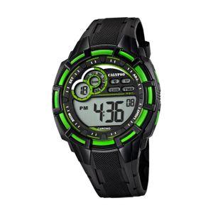 Calypso Kunststoff PUR Jugend Uhr K5625/3 Armbanduhr schwarz Digital D2UK5625/3
