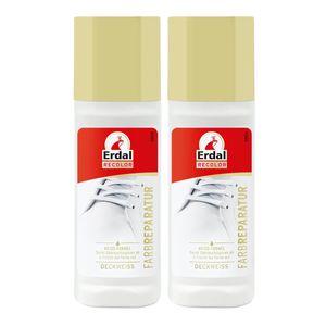 2x Erdal Recolor Farb Reparatur Deckweiss 75 ml - Frisch die Farbe auf