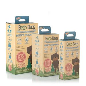 Beco Poop Bags Mint Value Pack 270 (18x15)