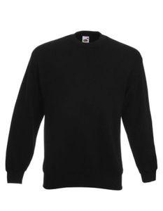 Classic Set-in Sweatshirt | Pullover - Farbe: Black - Größe: L