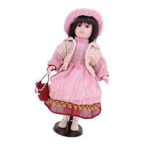 16 Zoll Elegante  Victoria Doll Stehend Keramik Puppe