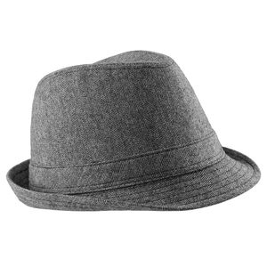 Beechfield Uni Trilby-Hut, 50% Wolle RW2033 (S/M) (Grau)