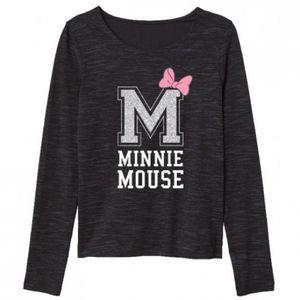 Minnie MAUS & DaisyT-Shirt mit Glitzer- Buchstabe 164