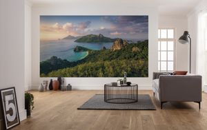 "Komar Vlies Fototapete ""Monkey Island"" - Größe: 350 x 200 cm (Breite x Höhe) - 7 Bahnen"