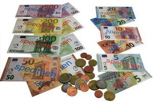 Wissner Spielgeldsatz 22 Münzen + 22 Scheine 080645.000