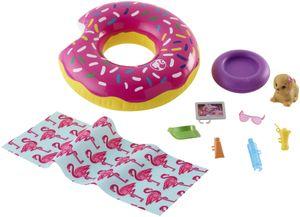 Barbie Outdoor Möbel Donut-Schwimmring Spielset
