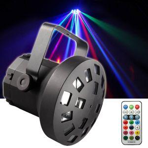E-Lektron LMR-9W USB Mushroom R/G/B/W LED Flower Lichteffekt Strahler DJ Party Disco EL153536