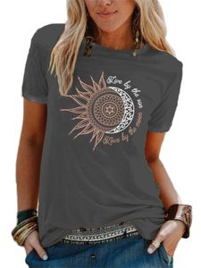 Damen locker und einfach T-Shirt Mode Pullover Sweatshirt,Farbe: Dunkelgrau,Größe:XXL